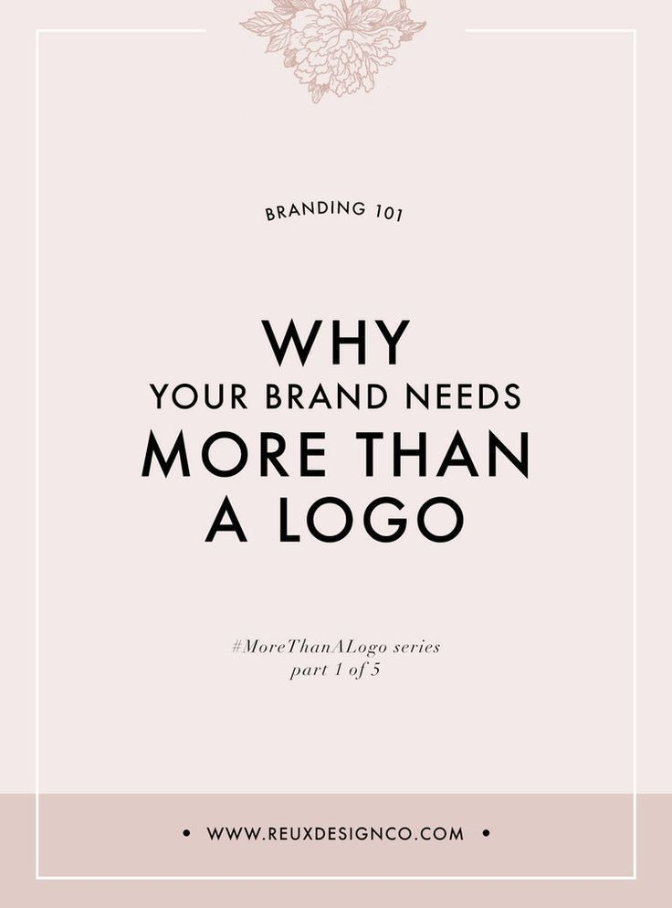 why you need more than a logo for your business branding   small branding tips   small business   Reux Design Co.