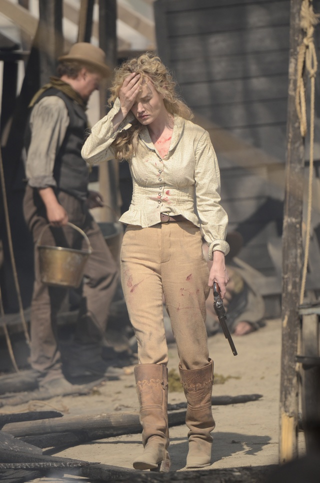 "Dominique McElligott in Hell on Wheels from ""Blood Moon Rising"""