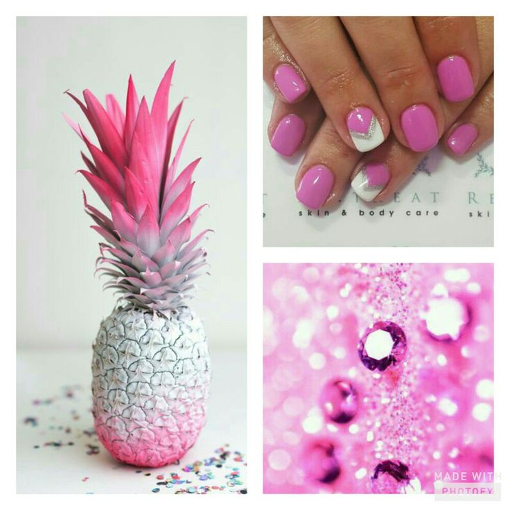 Colourfully Pink and Silver