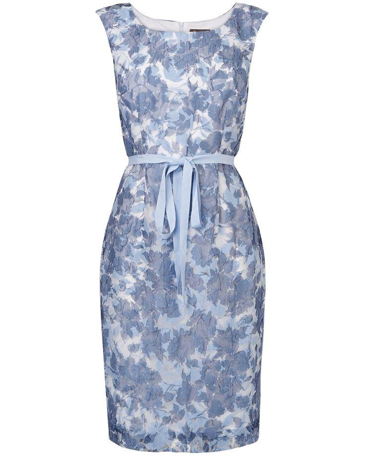 Dresses | Blue Audrina Dress | Phase Eight