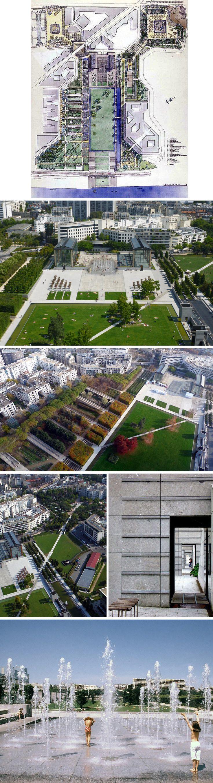 Parigi_Parco André Citroen #ParcoAndréCitroen #Parco #Architetto #stella #fazio