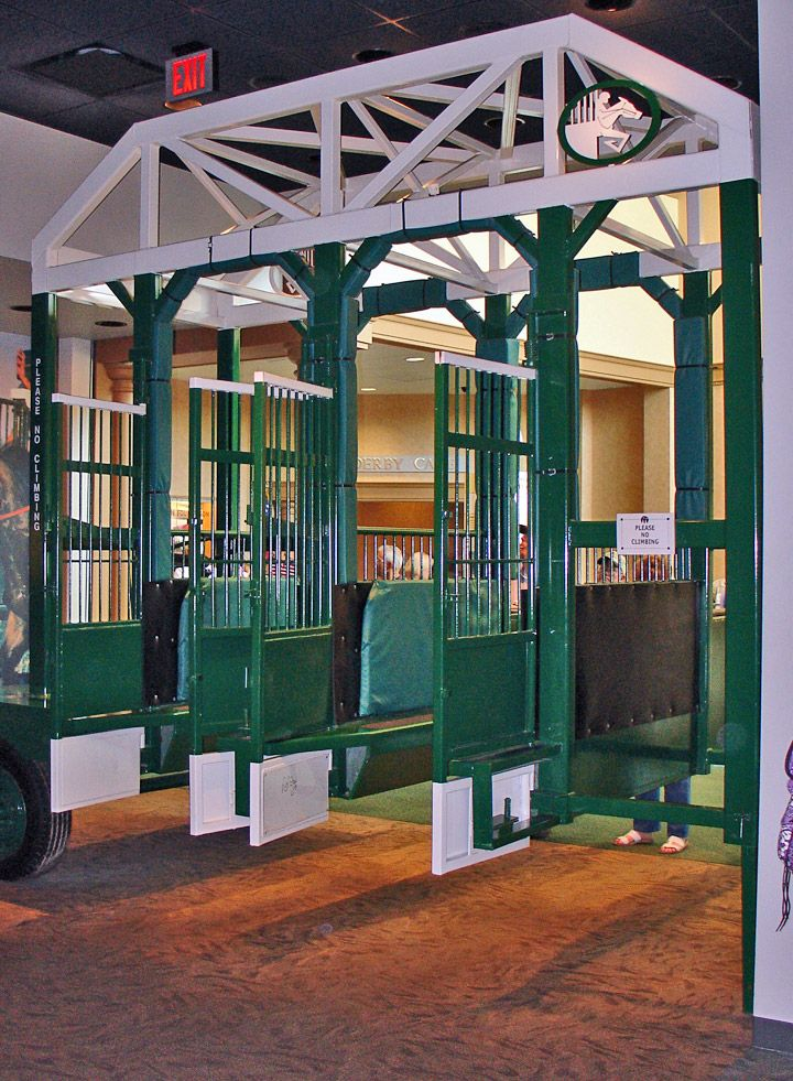 Museum at Churchill Downs race track, Louisville, Kentucky - Travel Photos by Galen R Frysinger, Sheboygan, Wisconsin