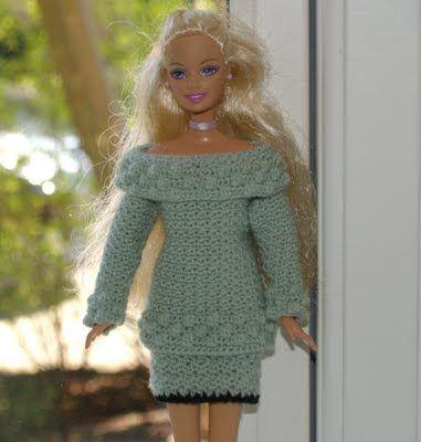 Frøken Fogh: Hæklet sweater til Barbie