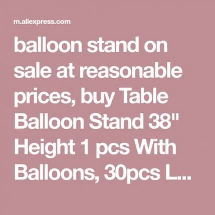 44+  Ideas For Wedding Table Balloons Decoration