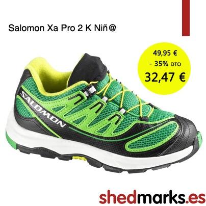 Trekking - Senderismo - Kids - Salomon - Zapatillas montaña