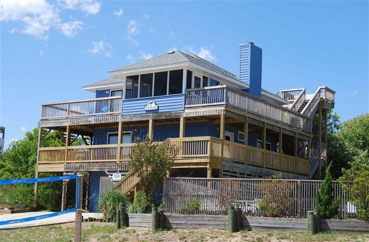 Duck Vacation Rental 679 Happy Crab Carolina Designs