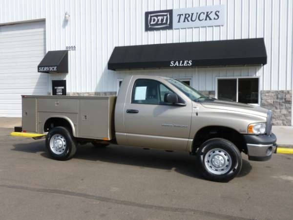 USED 2005 DODGE Utility Truck Ram 2500 for sale #truck