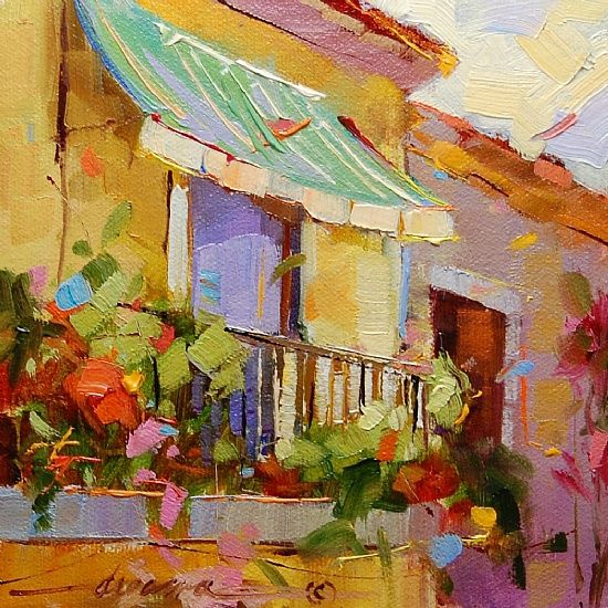 """""""Contagious Colors of Italy"""" - Sold"""