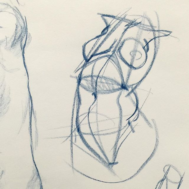 Basic torso construction. Accurate enough given human variety but simple enough you can make up figures using it. Demo in a students pad in my Inventive Drawing class at ArtCenter College of Design in Pasadena, CA. #ctnxpo #ctn2016 #ctnx2016 #howtodraw #howtodrawings #drawanyway #willwestonstudio #inventivedrawing #lifedrawinglondon #uscanimation #otiscollegeofartanddesign #loyolamarymountuniversity #woodburyuniversity #uclaanimation #gnomon