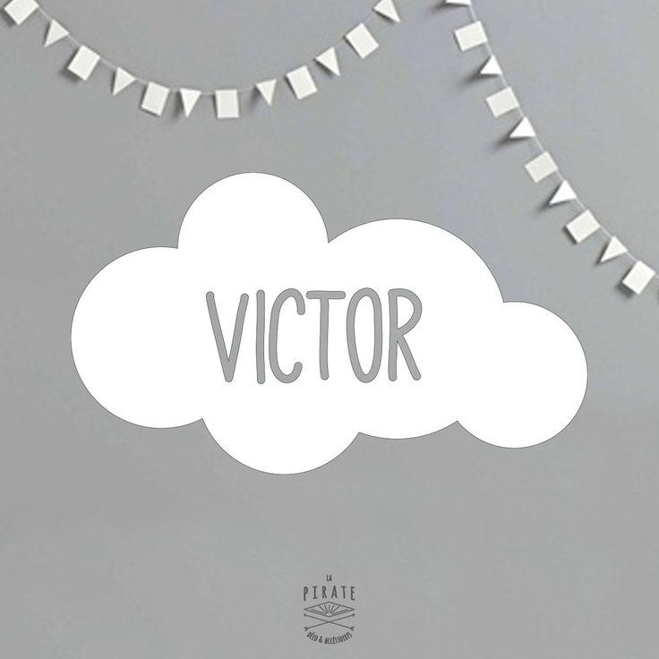 Ide cadeau nol le stickers nuage personnalis xcm chambre - Stickers chambre bebe leroy merlin ...
