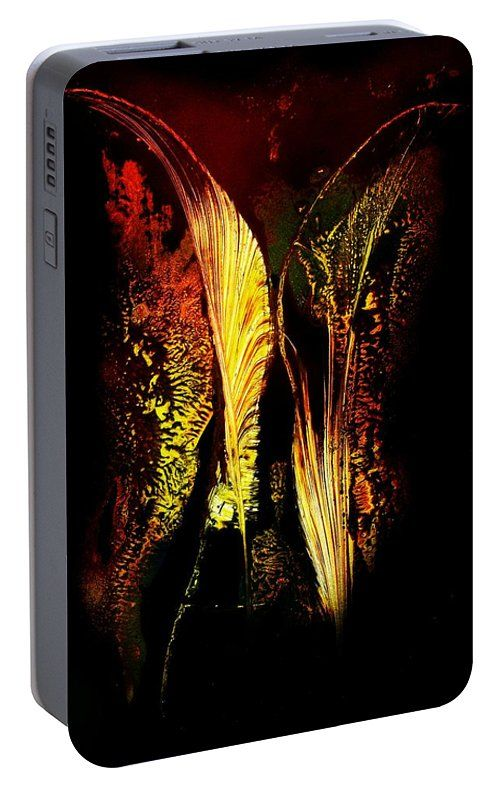 Light Fantasy Portable Battery Charger  Printed with Fine Art spray painting image Light Fantasy by Nandor Molnar (When you visit the Shop, change the orientation, background color and image size as you wish)