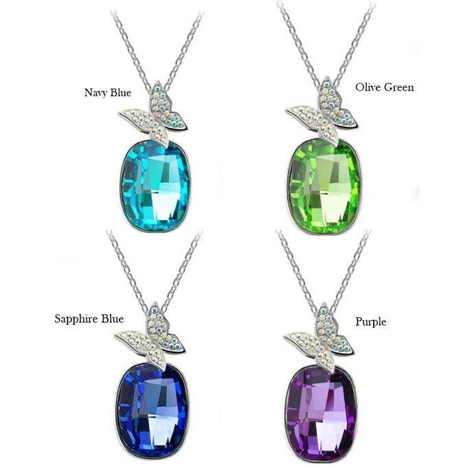 Temukan dan dapatkan Kalung Swarovski Crystal Elements Butterfly hanya Rp 200.000 di Shopee sekarang juga!…
