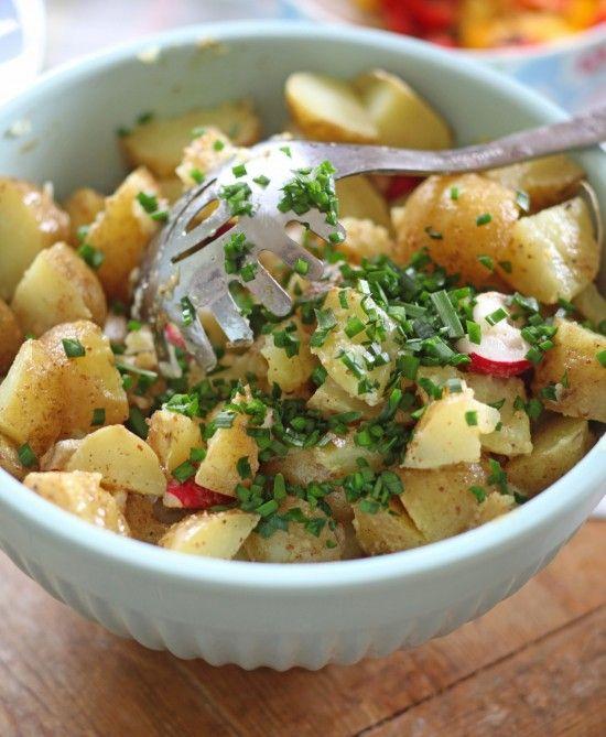 Potatissallad med dijonsenap