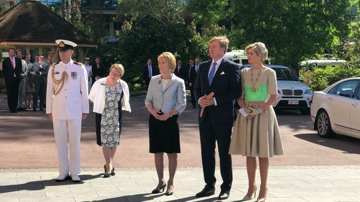 Staatsbezoek Australië - dag 1 dagprogramma