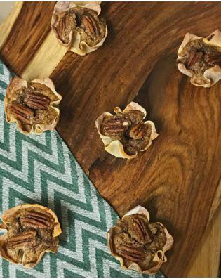 Pecan Pie Tartlettes  Healthy Dessert Recipe, Healthy Recipe