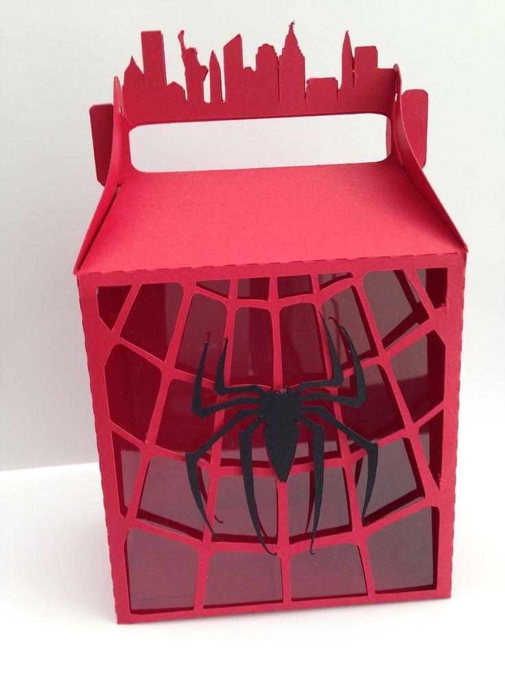 Caixa para lembrancinha Homem Aranha | Papel com Afeto | Elo7