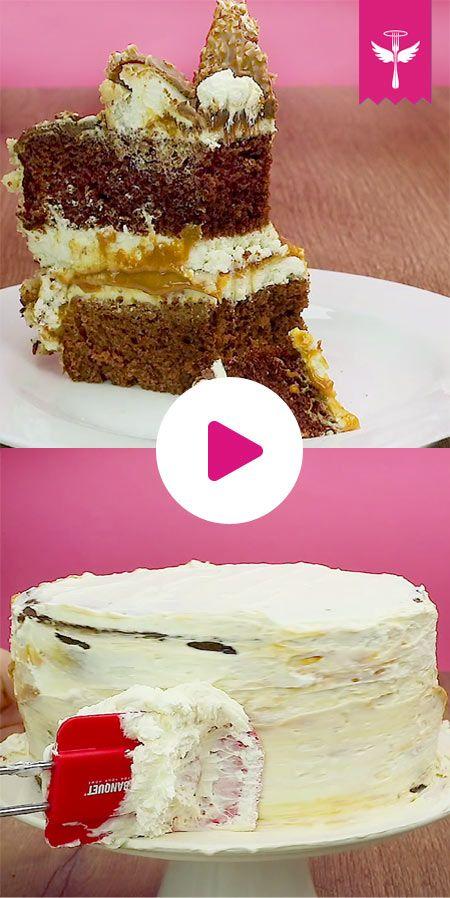 13 best Schokoriegel Kuchen images on Pinterest