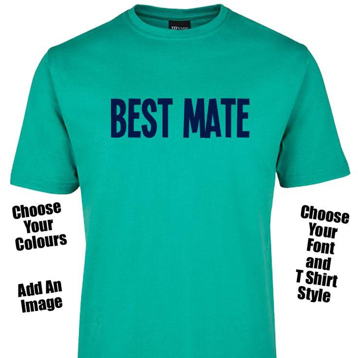 Best Mate T Shirt or Singlet