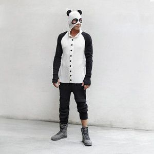 Panda Onesie, $198, now featured on Fab.