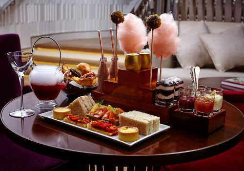 Afternoon Tea at One Aldwych - Covent Garden. It's Willy Wonka themed!!