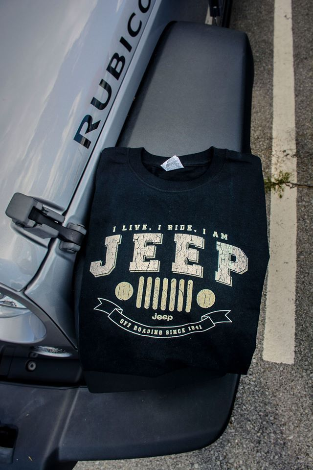 When it comes to Jeep accessories and cool Jeep Stuff, there is always new merchandise and apparel coming down the pipeline. Looking for a new Jeep shirt? We've got you covered:http://www.jeepworld.com/merchandise/tshirts.htm