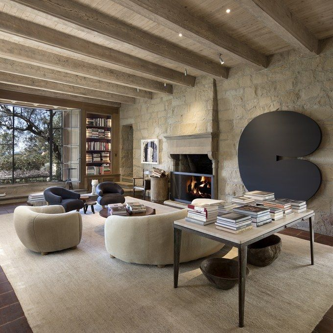 Ellen DeGeneres' Santa Barbar, California villa