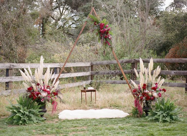 Handmade Bohemian Ranch Wedding: Rikki + Justin
