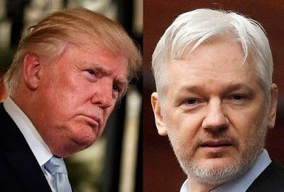 'I'm not in Agreement with Wiki leaks founder, Julian Assange' says Donald Trump