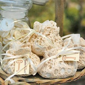 Doily Wedding Favors