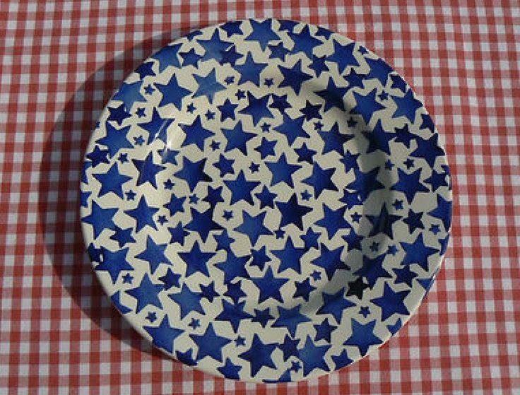 Emma Bridgewater Starry Skies SAMPLE 8.5 inch Plate