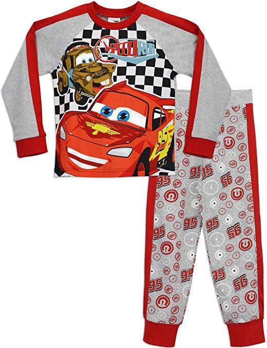 Disney Cars Jungen Lightning McQueen Schlafanzug 128