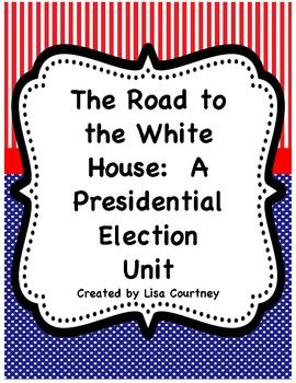 If you are teaching the election process, you will want this unit! The unit is 91 pages and contains material for the process of electing the President of the United States. This is a terrific unit whether it is an election year or not!