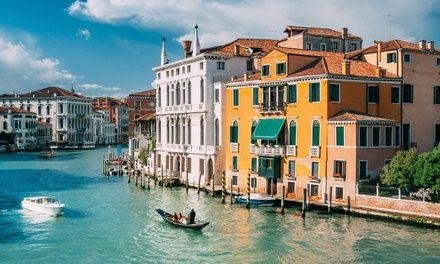 Transfert bateau-taxi à Venezia VE : Transfert en bateau taxi de l'aéroport Marco Polo à Venise: #VENEZIAVE En promo à 30.00€ En promotion…