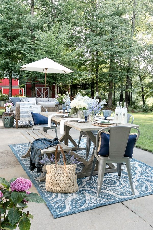 30 Wonderful Front Yard Ideas On A Budget Ideas That Will Inspire You Patio Decor Patio Cheap Patio Furniture
