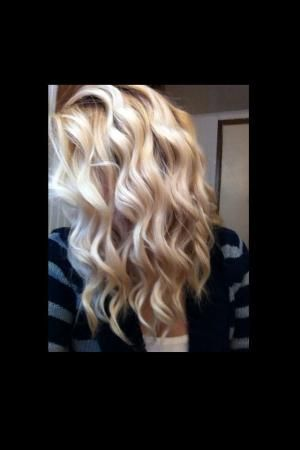 Wand curls. OMG! This is how I want to curl my hair! by fay
