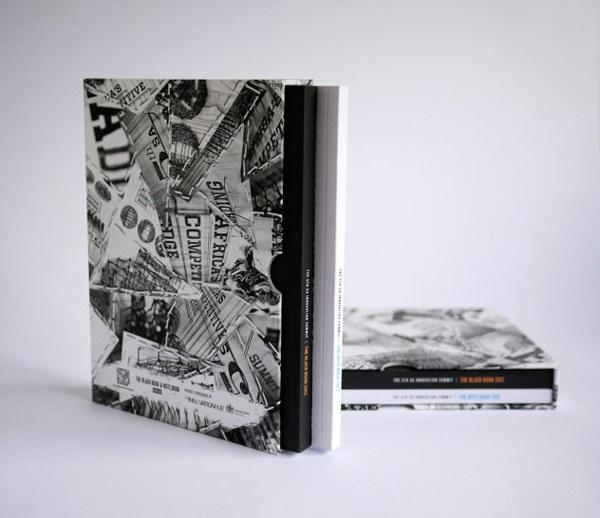 The Black Book & Note Book 2012 by Karl Mynhardt, via Behance