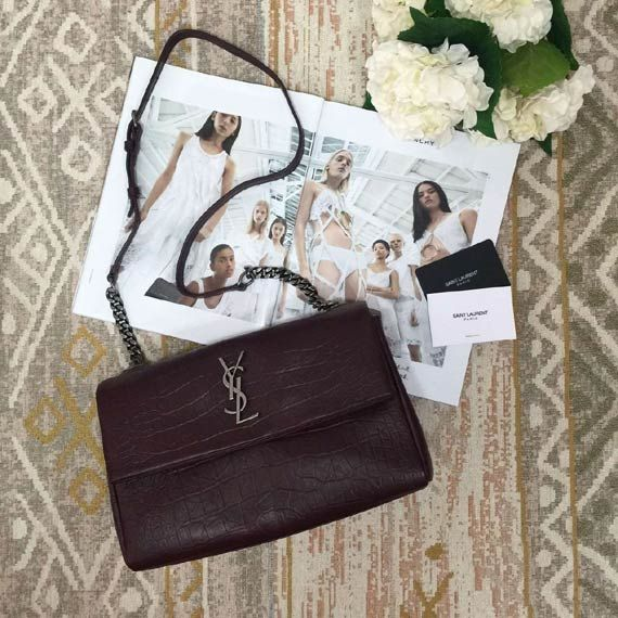 Classic Monogram embossed leather shoulder bag Whatsapp:+8615817091613 for more pics and other payment options.