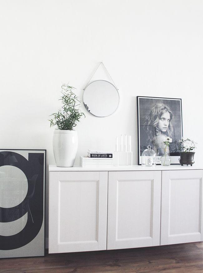 my home - living room, interior, inspiration, house doctor, bolina round mirror, kubus, tine k home vase, Vietnam vase, diptyque, design books, design poster, typography, Natalia Vodianova, Paolo Roversi, nordic style