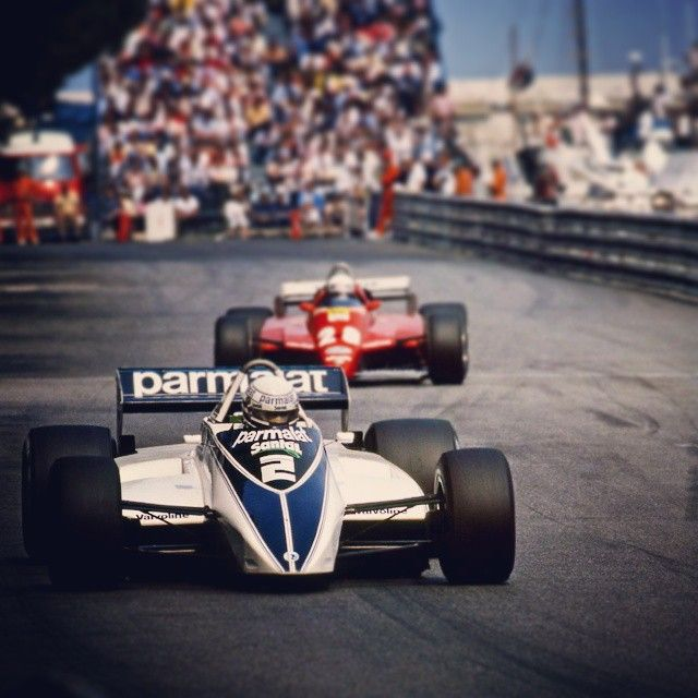 Can you get more #MonacoMagic than this? #RiccardoPatrese won the 1982 #MonacoGP, hanging on to take an enthralling race in which almost every other driver failed to finish. #F1 #Formula1 #ThrowbackThursday #TBT #65YearsOfF1