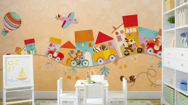 Inspirierende Kinderzimmer Deko Ideen für das schönste Zimmer. Das Kinderzimmer zu dekorieren, kann auf ganz unterschiedliche Art und Weise in der Tat .....