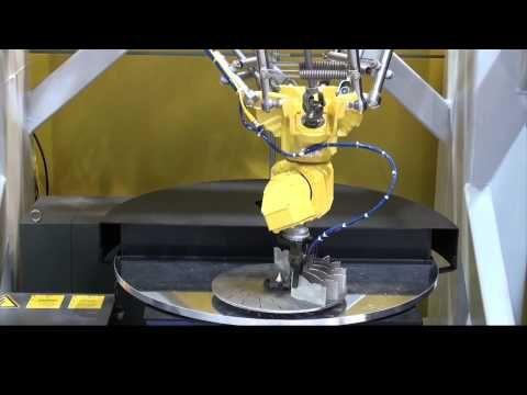Six-Axis Assembly Robot Builds a Blower Fan - FANUC Robotics