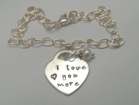 121 best hand stamped jewelry images on pinterest hand for New mom jewelry tiffany