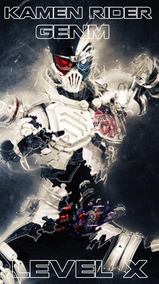 Kamen Rider Genm Smartphonne wallpaper 2 by phonenumber123