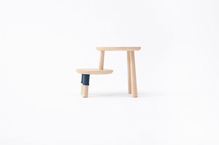 winnie the pooh tables by nendo for walt disney japan