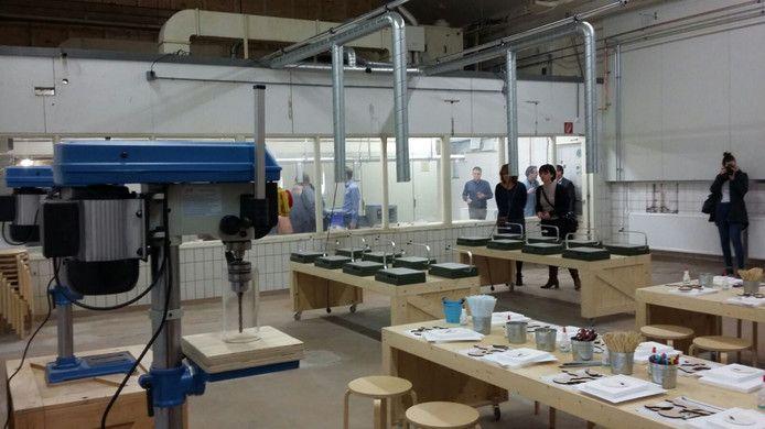 In Breda is vandaag na twee jaar voorbereiding De Uitvindfabriek in de voormalige snoepfabriek De Faam