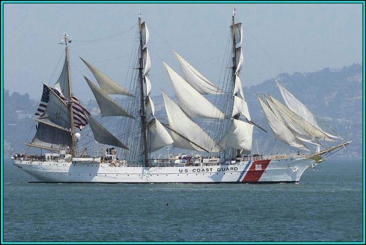 """ctsuddeth.com: US Coast Guard 3 Masted Tall Ship - The """"Eagle"""""""