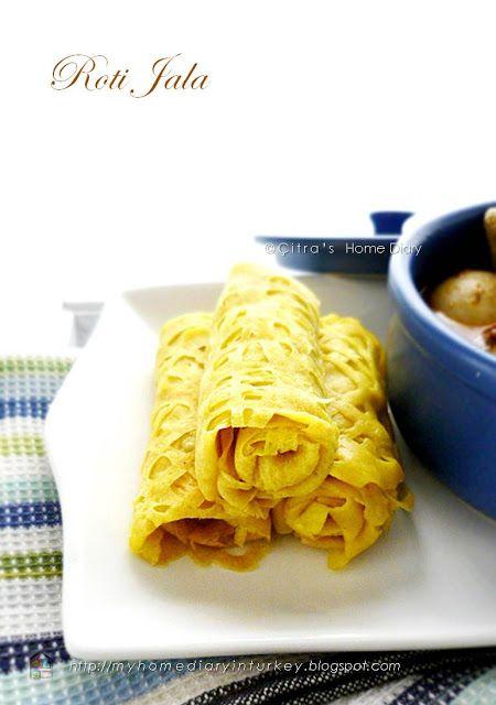 Citra's Home Diary: Roti Jala / Malay net pancake recipe