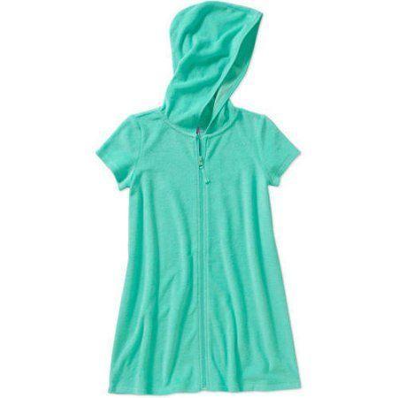 Op Girls' Swimwear Cover-Up, Size: 10/12, Blue
