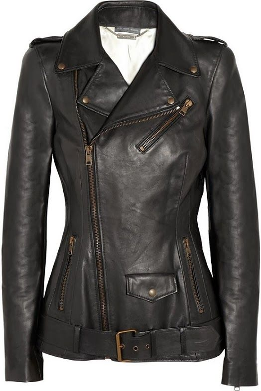 Finding the perfect leather jacket... : femalefashionadvice