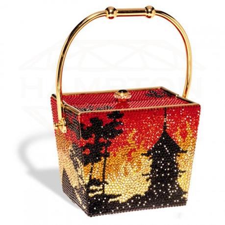 Kathrine Baumann #P501 Chinese Takeout Whimsical Jeweled ...